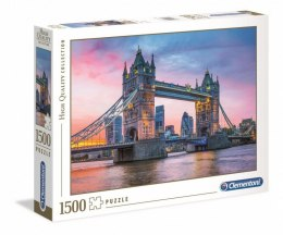 PUZZLE 1500 ELEMENTÓW HQ - TOWER BRIDGE SUNSET